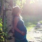 妊婦の写真